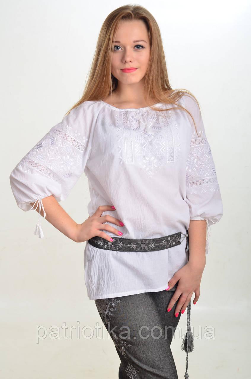 Блуза женская Белослава | Блуза жіноча Білослава