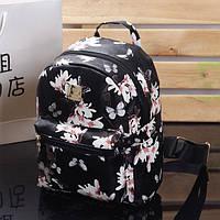 Женский рюкзак в цветы РМ6900