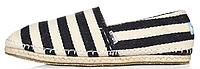 Мужские эспадрильи Toms (Томс) черные/белые