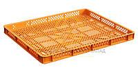 Пластиковые ящики из вторичного сырья 745x625x60