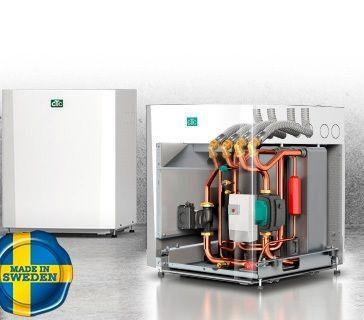 Геотермальный тепловой насос СТС EcoHeat 406 LEP