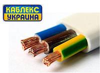 Кабель, провод силовой медный электрический  ШВВП 3х4 (Одесса Каблекс)