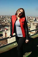 Пиджак стеганый женский