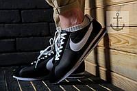 Мужские кроссовки Nike Cortez 🔥 (Найк Кортез) White - Black