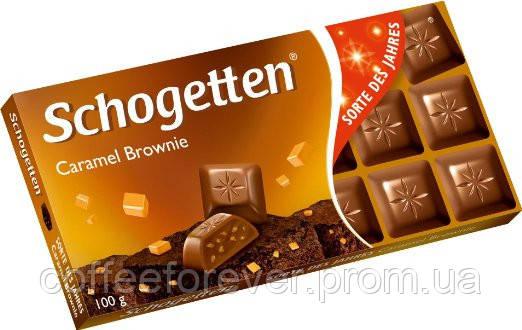 Шоколад молочный Schogetten Caramel с карамельной начинкой 100г, фото 2