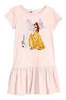 Платье розовое принцесса светлое 98/104