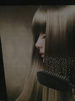 Расческа для выпрямления волос с ионизатором 2 in 1 PTC Heating