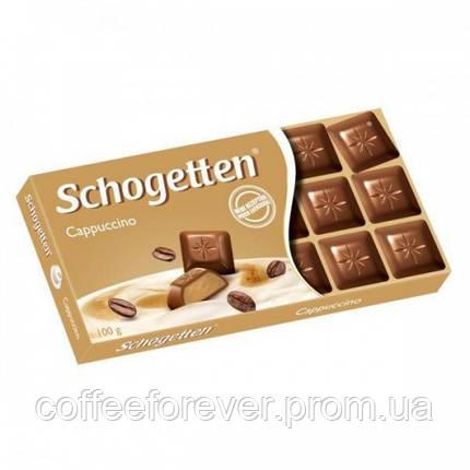 Шоколад молочный Schogetten Cappuccino капучино100 г., фото 2