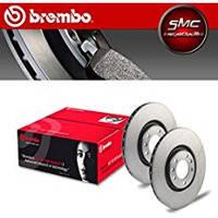 Тормозной диск задний Brembo 08.7861.10 для Alfa Romeo Gt (937) 12.2006-09.2010