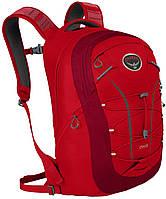 Яркий фирменный спортивный рюкзак Osprey Axis 18 O/S красный