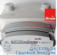 Счетчик газа Gallus 2000 G4 (Itron) - Франция (Галлус-Итрон), фото 1