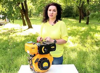 Дизельный двигатель Sadko DE-300