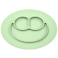EZPZ - Силиконовая тарелка Mini mat, цвет Pastel green
