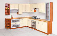 Кухня Лира комплект 2м орех + ваниль   Світ Меблів
