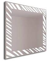 Зеркало Zebrano с подсветкой настольное