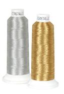 Металлизированные нитки Fismetalic для вышивальных машин 5000mt