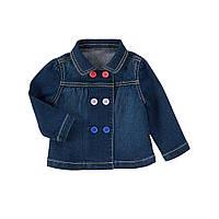 Джинсовая курточка для девочки. 12-18, 18-24 месяца