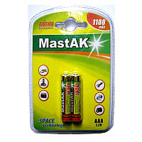 Аккумулятор AAA 1100mAh 1.2v MastAK