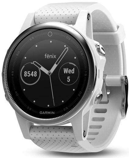 Смарт-годинник Garmin fenix 5S White with Carrara White Band