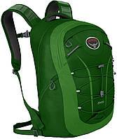 Яркий фирменный городской рюкзак Osprey Axis 18 O/S зеленый