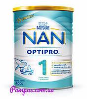 Сухая детская молочная смесь NAN OptiPro 1, 400 г