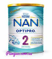 Сухая детская молочная смесь NAN OptiPro 2, 400 г