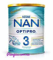 Сухая детская молочная смесь NAN Optipro 3, 400 г