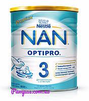 Сухая детская молочная смесь NAN OptiPro 3, 800 г