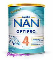 Сухая детская молочная смесь NAN OptiPro 4, 400 г