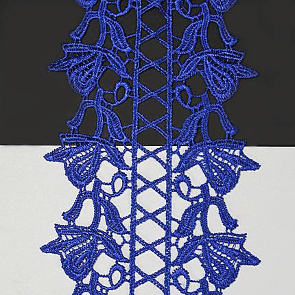 Кружево арт. 108 12 см электрик, фото 2