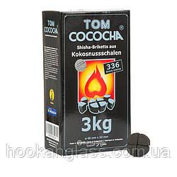 Кокосовый уголь Tom Cococha Silver 3 кг