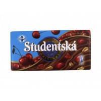 Молочный шоколад STUDENTSKA PECET с вишней, 180 гр , фото 2