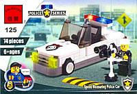 """Конструктор """"Полиция"""" 125 Brick"""