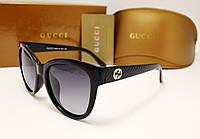 Женские солнцезащитные очки Gucci 8036 цвет черный