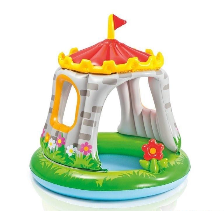Дитячий надувний басейн «Королівський Замок» Intex 57122 (122*122 см)