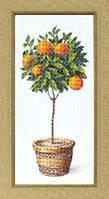 Набор для вышивания крестом Crystal Art Апельсиновое дерево