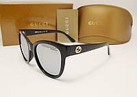 Женские солнцезащитные очки Gucci 8036 зеркальная линза