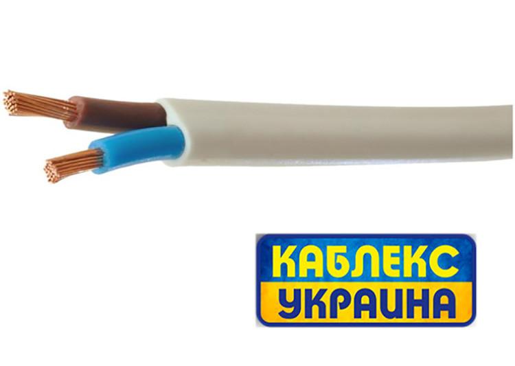 Кабель медный ШВВП 2х1,5 (Одесса Каблекс)