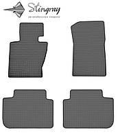 Комплект резиновых ковриков Stingray для автомобиля  BMW X3 (E83) 2004-