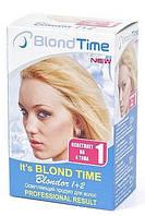 Осветлитель для волос комплект BLOND TIME 1+2