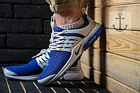 Мужские кроссовки Nike Air Presto 🔥 (Найк Аир Престо) Blue - White