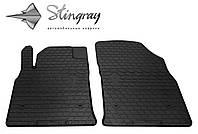 Stingray Модельные автоковрики в салон Opel Astra J 2009- Комплект из 2-х ковриков (Черный)