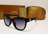 Женские солнцезащитные очки Gucci 8036 оправа матовая