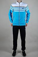 Мужской  спортивный костюм NIKE 3485 Бирюзовый