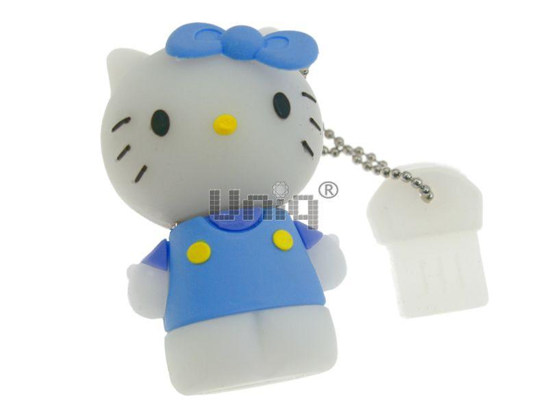 """Брелок резина объемный """"Hello Kitty"""" (уп.12)"""