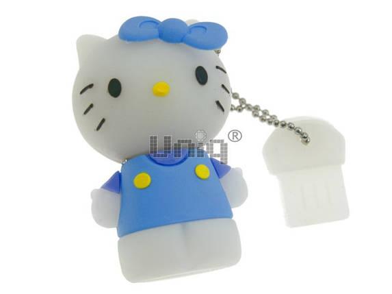 "Брелок резина объемный ""Hello Kitty"" (уп.12) , фото 2"