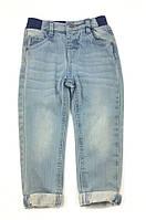 Модные джинсы для мальчика на резинке Minoti  (р.86/92)