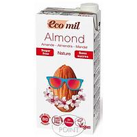 Органическое миндальное молоко без сахара, 1л, EcoMil (8428532230061)