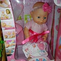 Детский мини пупсик Беби берн