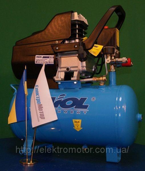 Компрессор поршневой Miol 81-152 Циклон масляный прямоприводный